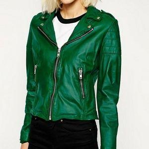 Muubaa Presley leather jacket